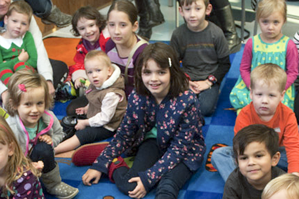 Photo of kids at Garland County Library