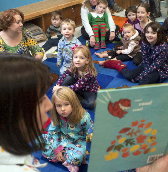 Photo of kids at Garland County L ibrary's storytime